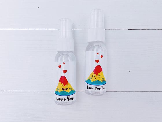 Volcano 'Lava You' Couple
