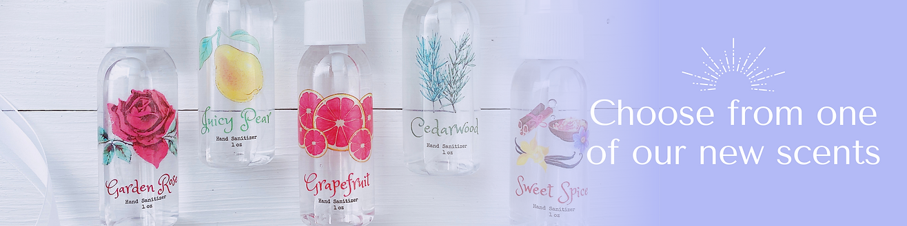 spring scents banner