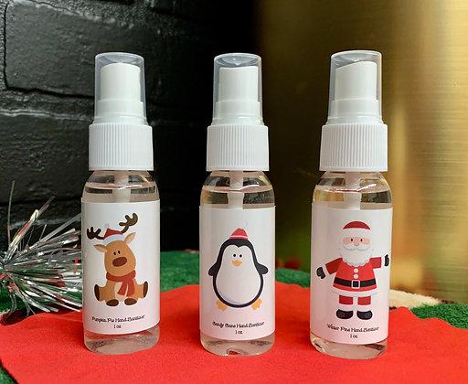 Christmas Hand Sanitizer Trio