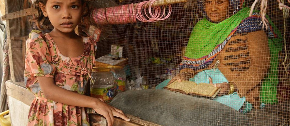 I run a small shop to earn bread for my collapsed family...
