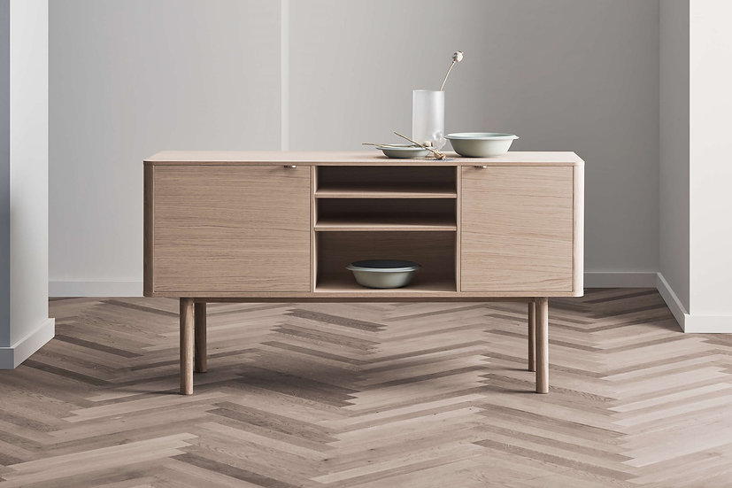 bolia yacht sideboard in kitchen