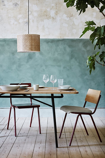 Broste Copenhagen Ole Chairs Wild Ginger and Drizzle Lifestyle 2