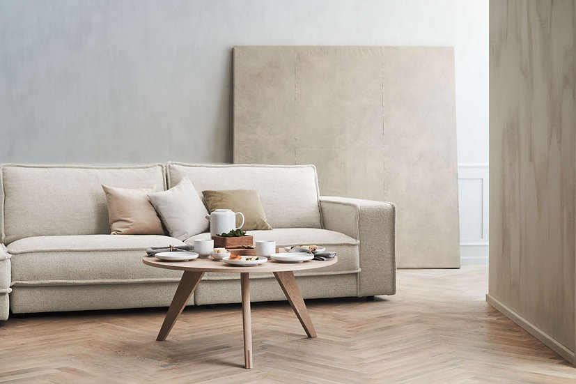 bolia new mood coffee table in living room