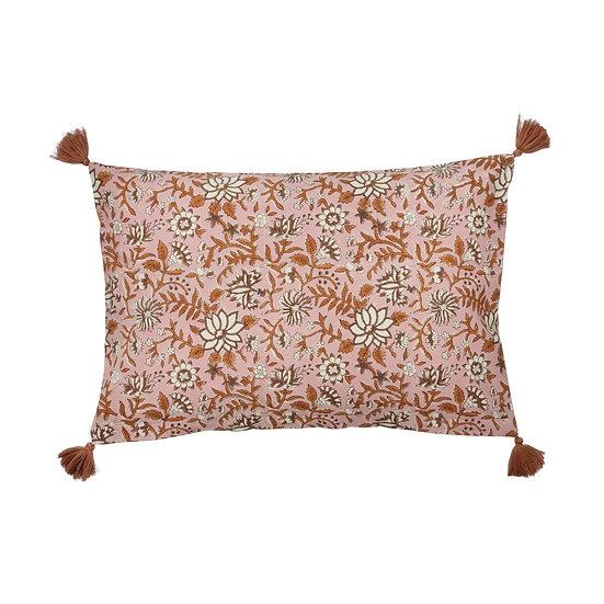 Komati Chocolate vintage cushion