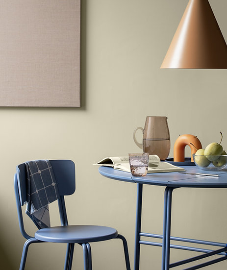 Broste Copenhagen Oda Dining Chair at Table