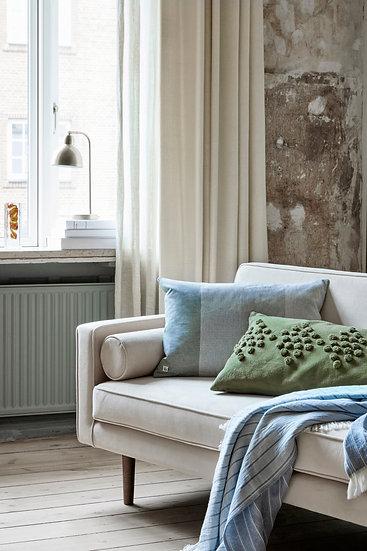 Designer Mid Century Sofa Cream
