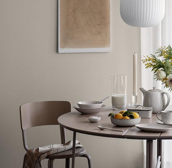 Broste Copenhagen Oda Dining Table Warm Beige in Kitchen