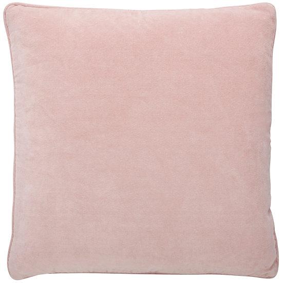 Nude Velvet vintage cushion