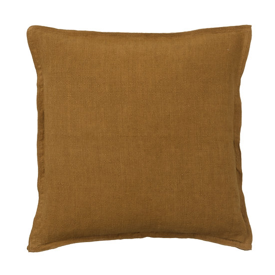 Large Linen vintage cushion