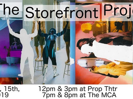 'The Storefront Project' shows local, devised work: An Interview with Olivia Lilley & Tara Willis