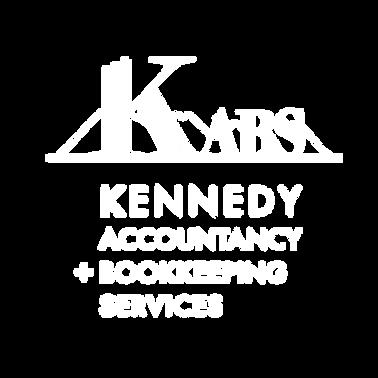 Karen KABS logo REVERSED white on transp
