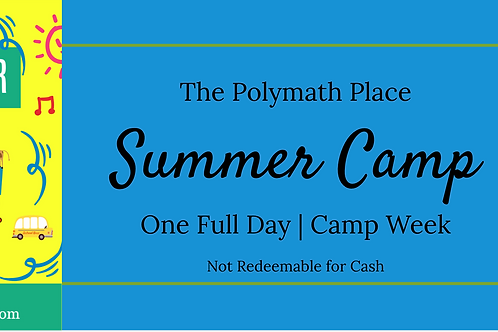 Summer Camp Special