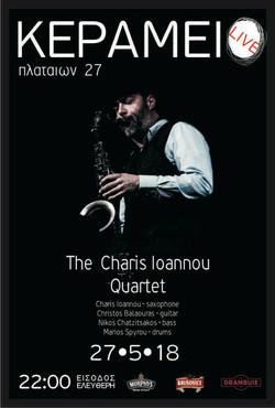 2018 Charis Ioannou Quartet _Kerameio