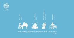 2019 Marco Birro Trio Feat Vid Jamnik