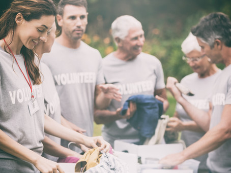 When to use volunteers and when to use a professional