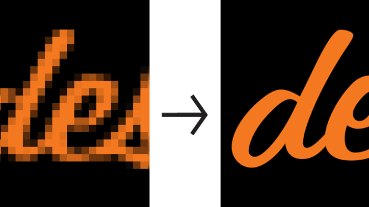Vetorização de logomarca