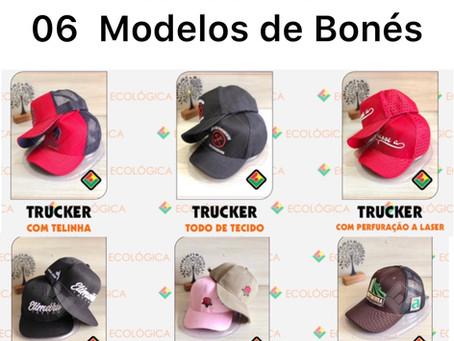 06 Modelos de Bonés