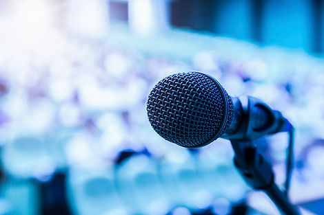 Microphone-and-Abstract-Blue-Background.