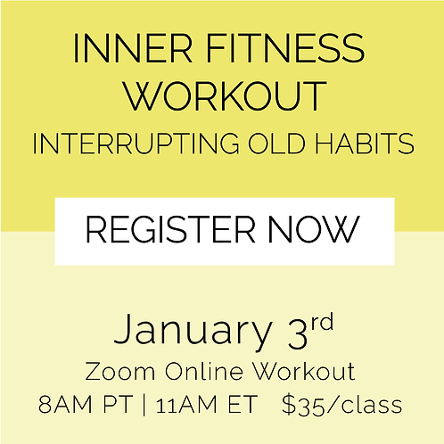 IFW: Interrupting Old Habits - January 3rd
