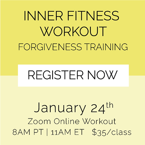 IFW: Forgiveness Training - January 24th