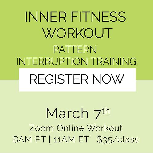 IFW: Pattern Interruption Training - March 7th