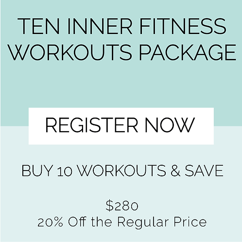 10 Inner Fitness Workout Package