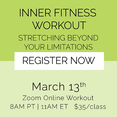 IFW: Stretching Beyond Your Limitations - March 13th