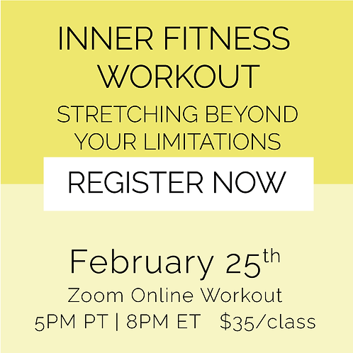 IFW: Stretching Beyond Your Limitations - February 25th