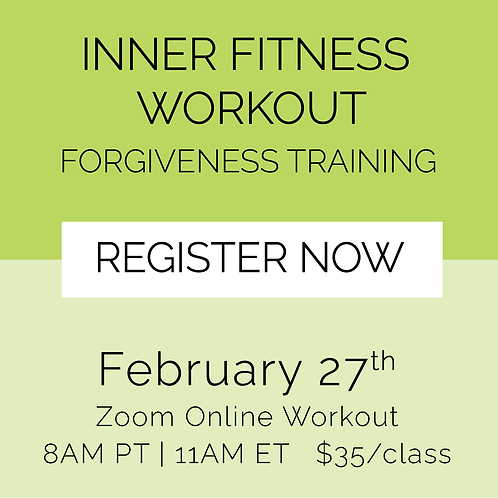 IFW: Forgiveness Training - February 27th