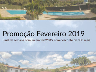 #PROMO FEV 2019