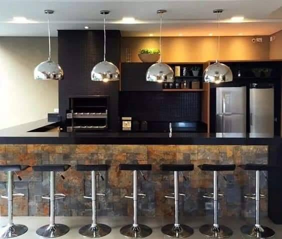 Dicas e ideias para integrar a cozinha c