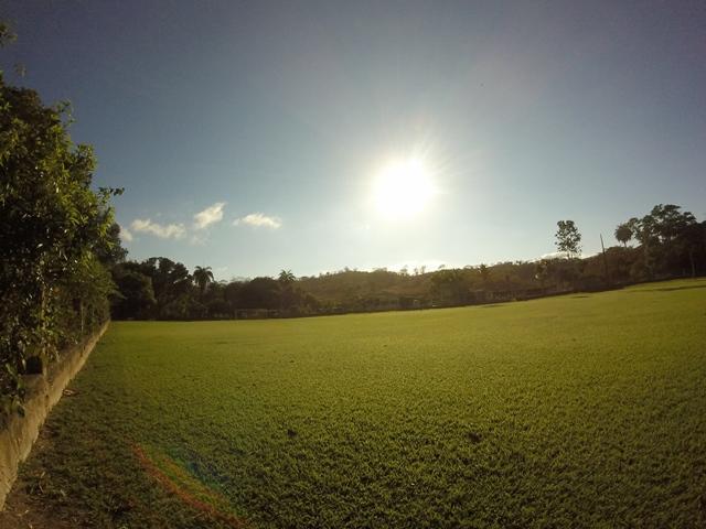 Campo de futebol - sítio de aluguel