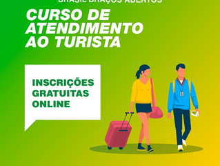 Cursos gratuitos de qualificação em Turismo - Saiba mais!