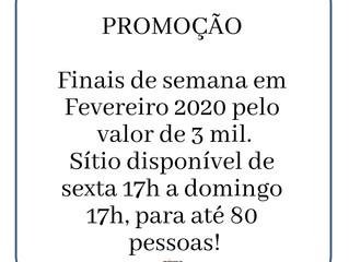 FEVEREIRO em promoção!