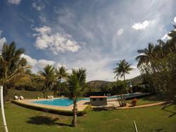 piscina sitio de alugue BH Sabará