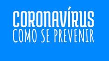 Como se prevenir do coronavírus?