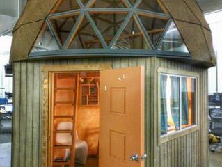 Cabana em forma de cogumelo - A casa mais visitada no mundo