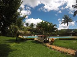 jardim área piscina