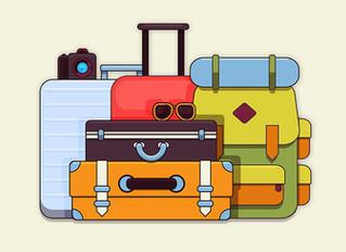 Dicas de como fazer mala de viagem