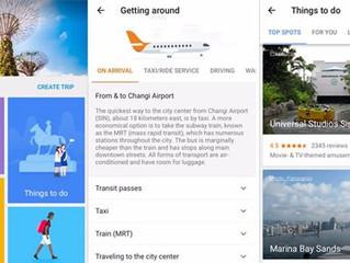 App de viagens do Google ganha versão em português