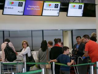 Gastos com viagens ao exterior caem em setembro