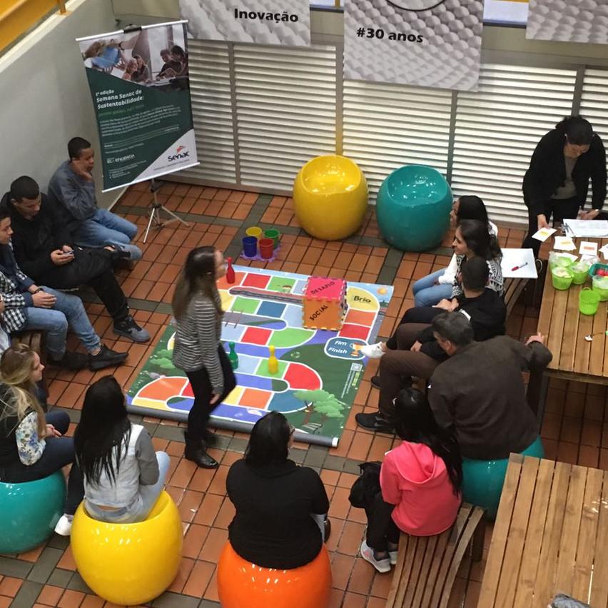Brio Socioambiental na Semana Senac de Sustentabilidade