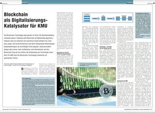 Blockchain im Maschinenbau