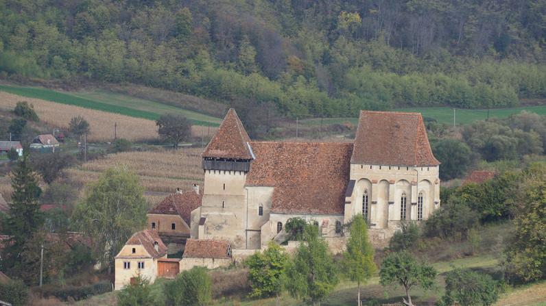 Copsa Mare's Saxon church