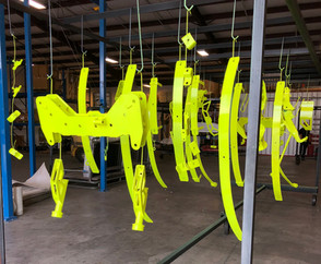 Neon Yellow Lift Kit