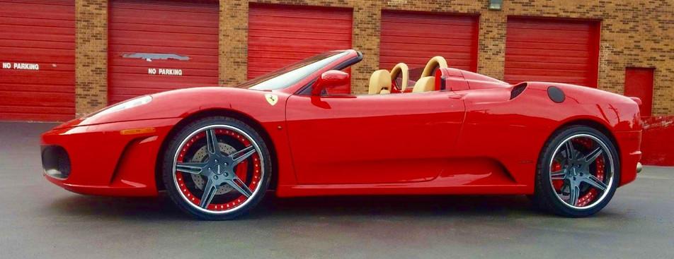 Ferrari - Hunter Custom Automotive Wheel