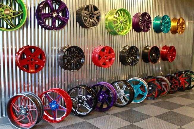 Wheels, Wheels and More Wheels