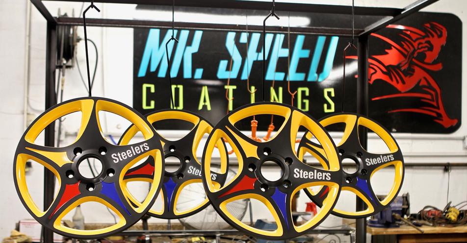Greening Automotive Designed and Cut Wheels
