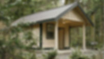Camano Island State Park Cabin