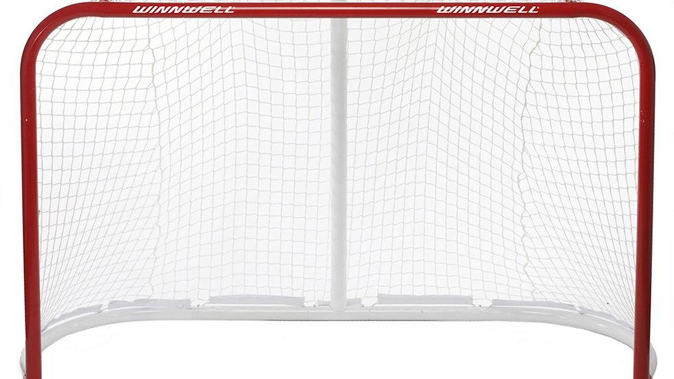 "Winnwell Official 72"" Hockey Goal W/Quicknet"